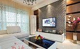 导入现代新古典婚房 88平两室的温馨