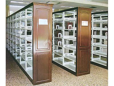 双面书架尺寸 双面书架效果图 装修保障网