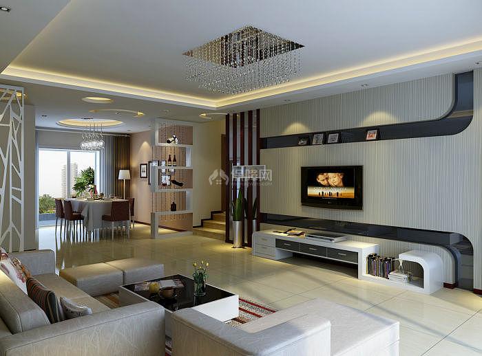 110平米实用现代风格室内装修设计图室内设计图片办公室公司图片