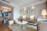 素雅简洁的130平三居室简欧风