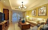 小资改造两房两厅自然美式