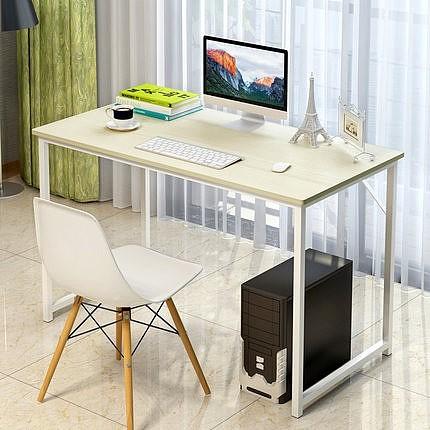 电脑桌台式桌家用简约现代办公桌简易小书桌笔记本电脑桌子写字台