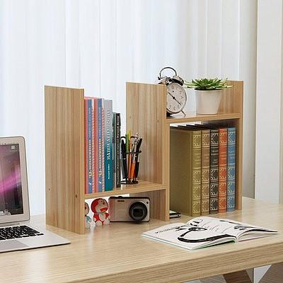 桌面小书架简易桌上置物架简约现代学生书柜儿童书桌办公桌收纳架