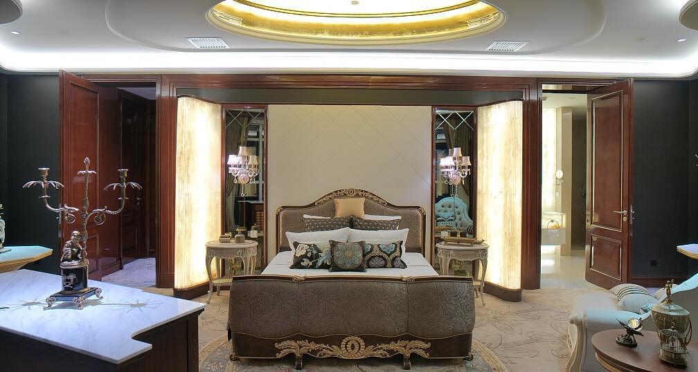 超豪华欧式风格别墅装修效果图案例