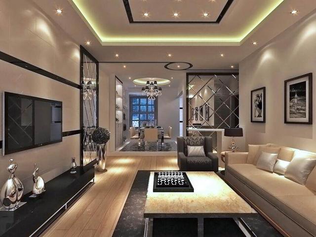 后现代风格装修案例 极富特色的现代家居