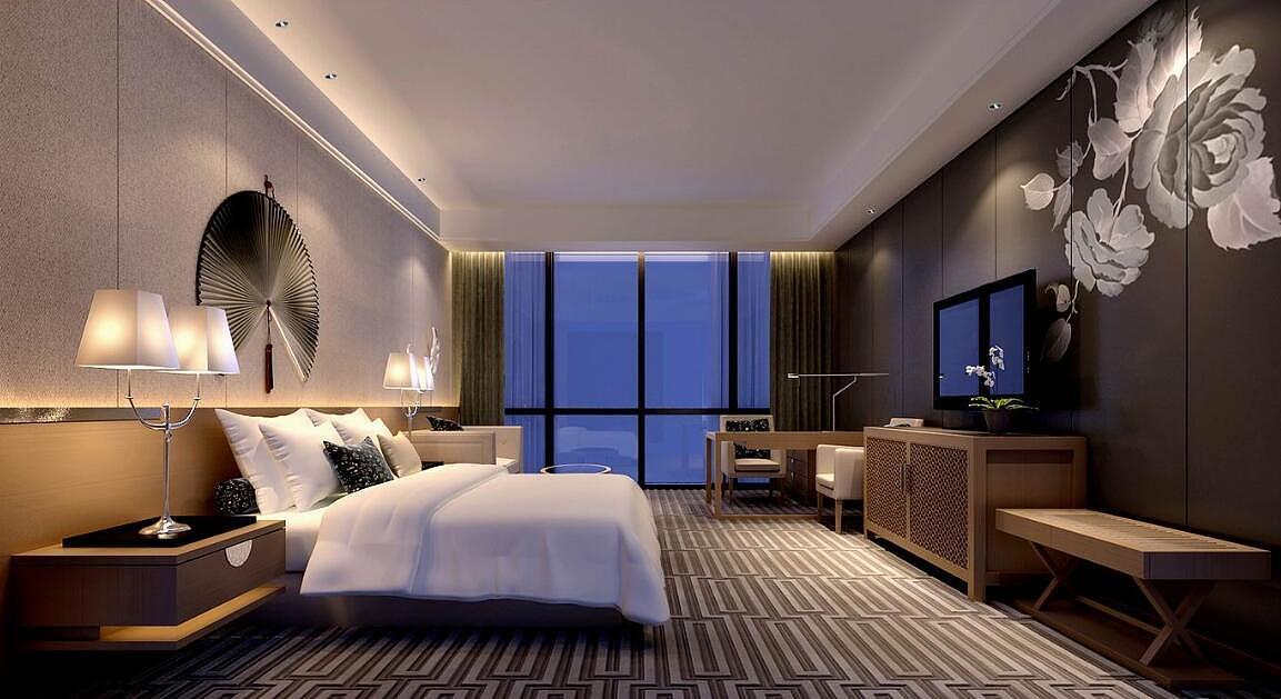 高级欧式酒店房间设计图片