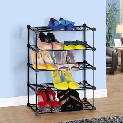 简易组合式鞋柜 特价 时尚简约创意塑料组装防尘超薄鞋架 宿舍用