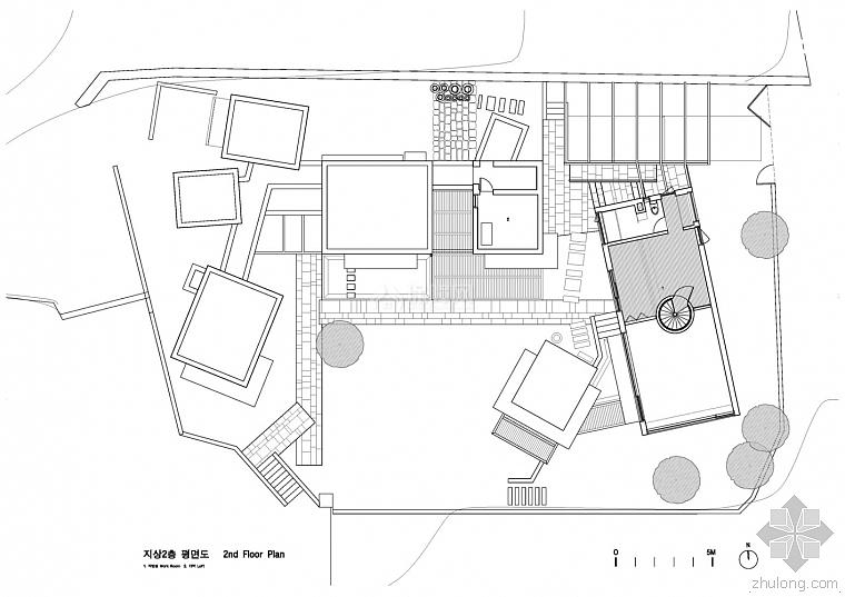 韩国案例设计教授JindoPark别墅设计图纸大师日本折纸别墅图片