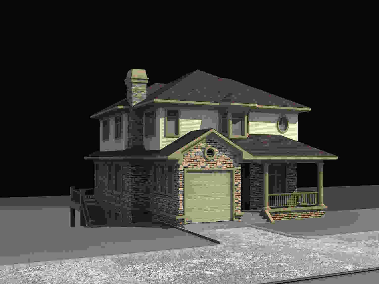 别墅烟囱装修设计案例 墅外墙屋顶瓦烟囱帽尺寸设计图图片