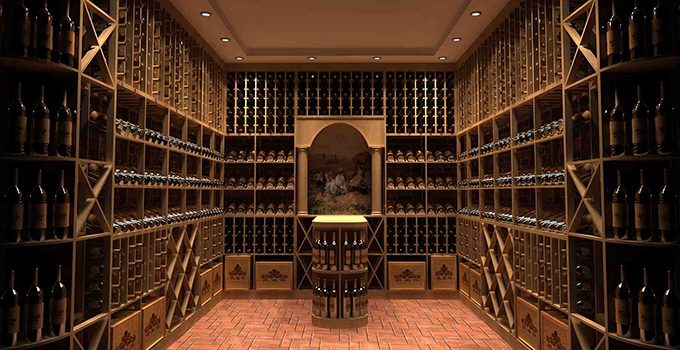别墅白酒酒窖设计原则 别墅地下室白酒酒窖设计