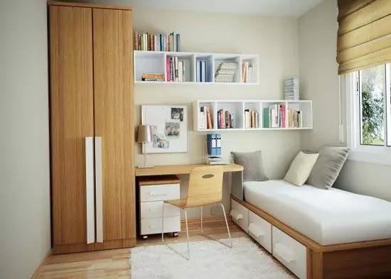 10平米卧室装修 多一点设计少一点局限!