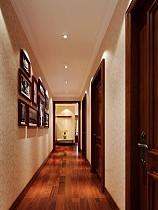 美式格调室内走廊装饰图