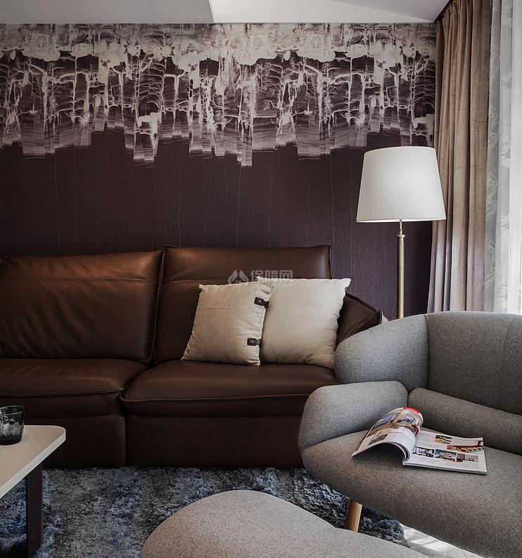质感欧式风格客厅装饰设计