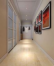 101平现代简约走廊照片墙效果图