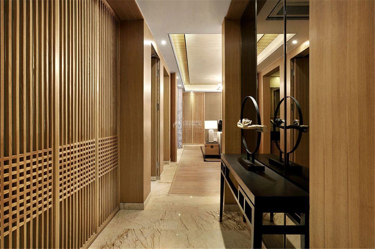 中式风格室内过道设计
