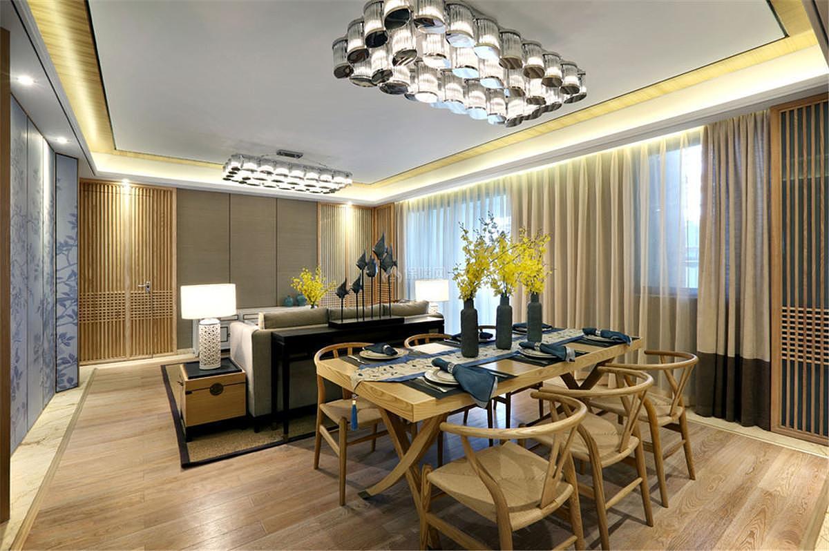 中式风格餐厅吊顶设计