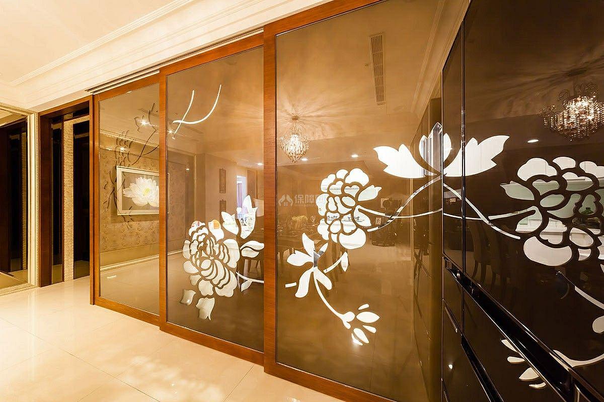 西式古典三居室屏风设计