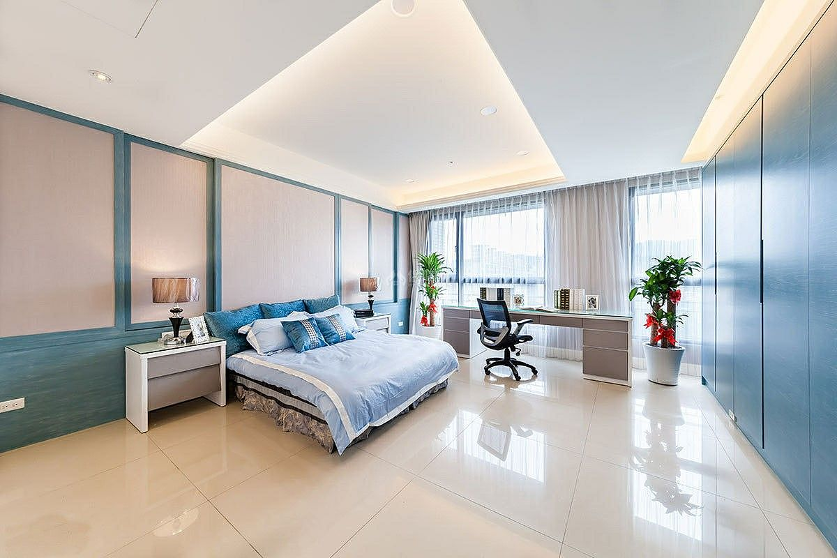 西式古典风格卧室装饰设计