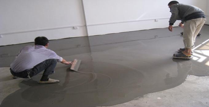 地面找平起灰怎么办?