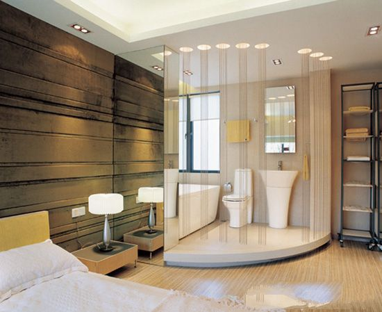卧室带卫生间怎么装修设计?带卫生间卧室设计效果图案例
