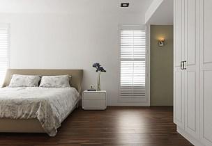现代简约卧室布置图