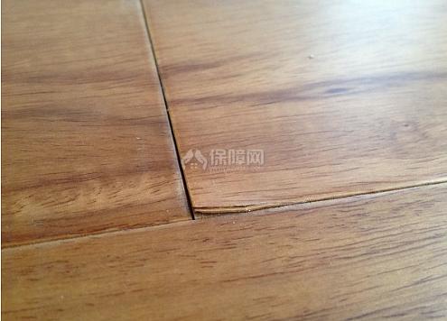 地板开缝了,怎么办?