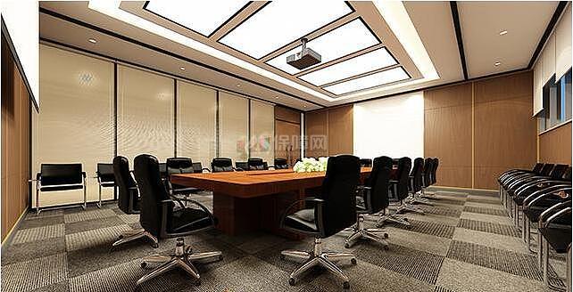 欧式办公室装修