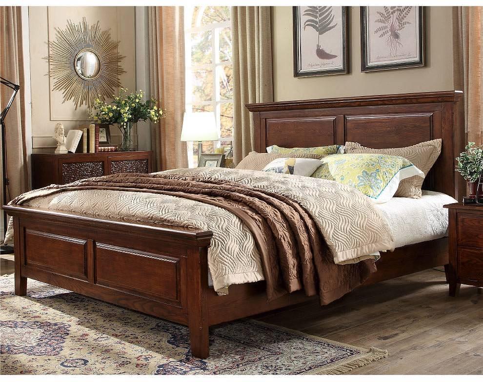 橡木实木床价格一般多少
