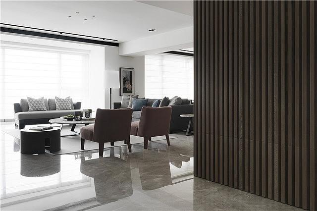 200平米的现代简约别墅 以简胜繁功能强大
