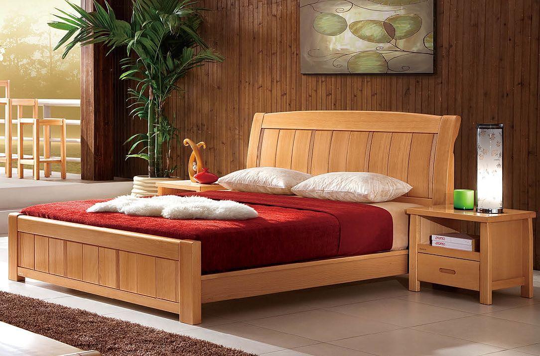 大自然榉木床好吗