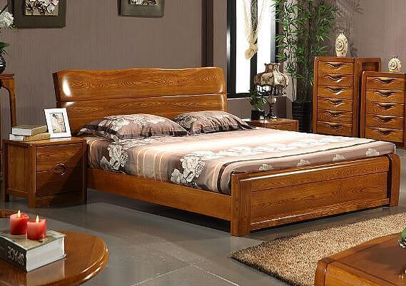 榆木床的价格 老榆木床价格