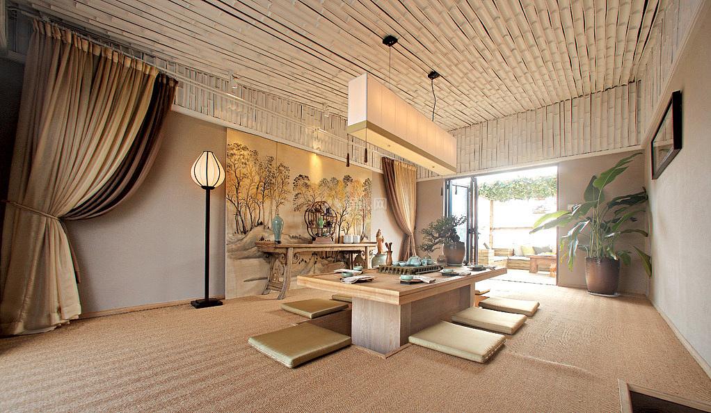 雅致中式风格餐厅装饰设计