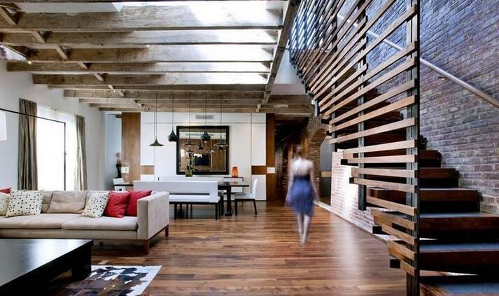 楼梯在客厅怎样装修设计?客厅台阶设计误区需注意