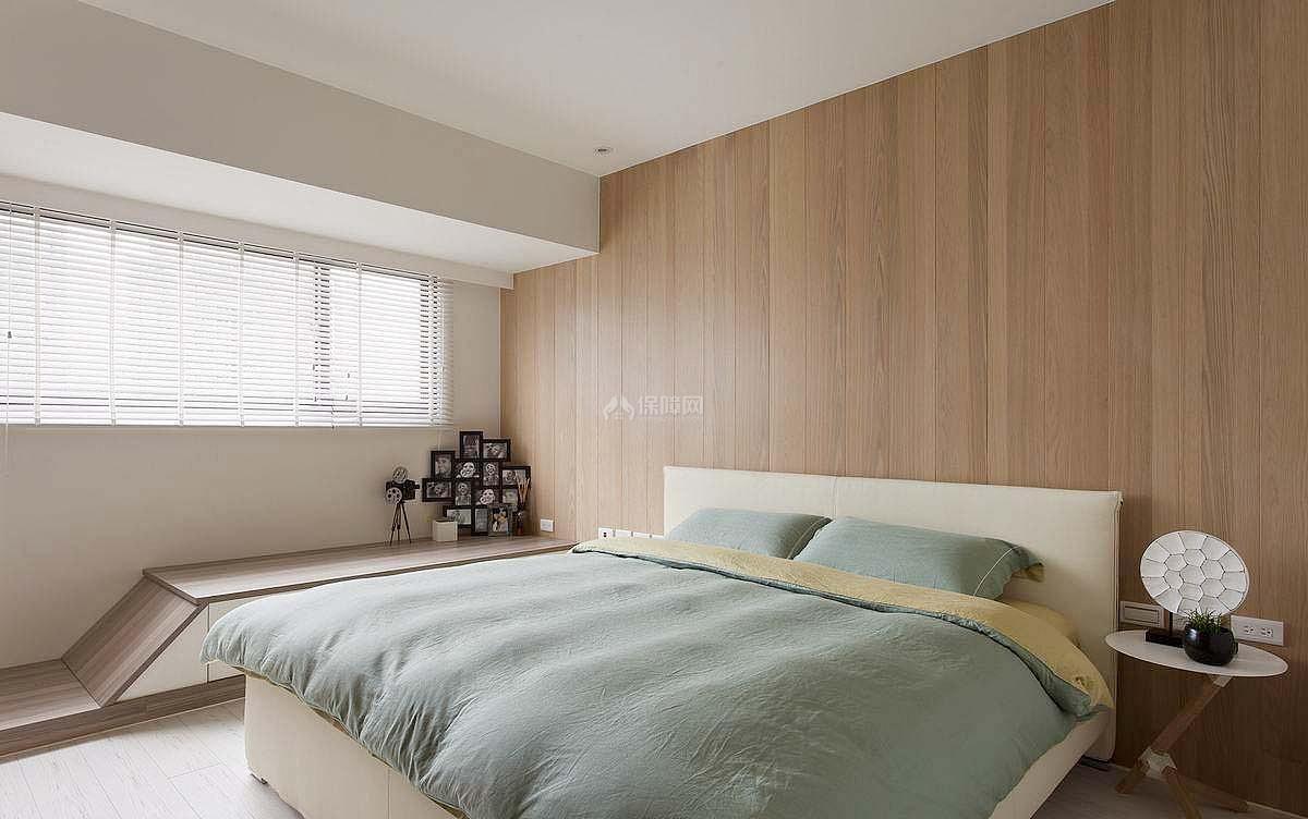清新欧式复式装修卧室图