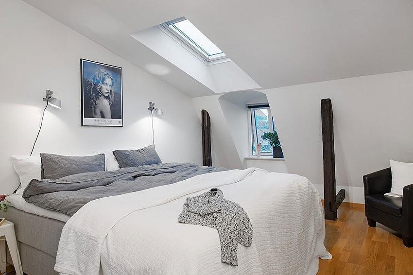 北欧风公寓卧室装饰效果图图片