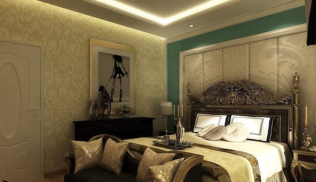 帅气英伦风格 推荐简约欧式公寓设计