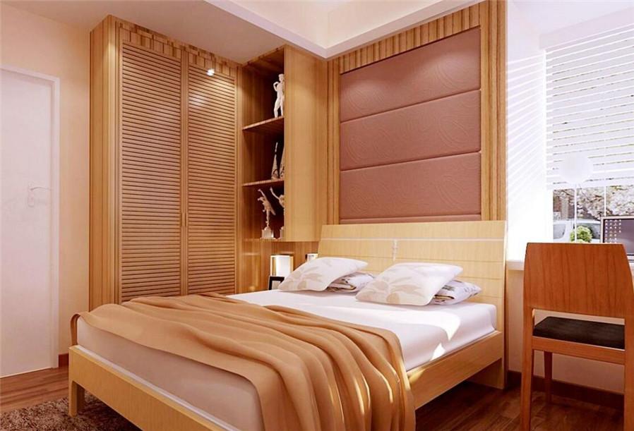 家居风水 卧室衣柜的摆放禁忌     衣柜作为卧室里最大的摆设,如果图片