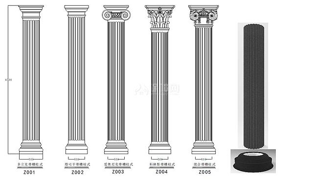 罗马柱多少钱一根 罗马柱怎么安装