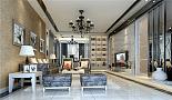 城建仁山智水-现代风格-五居室