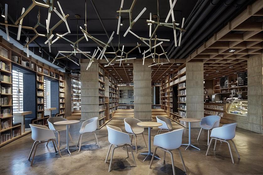 保定新华书店装修设计效果图欣赏