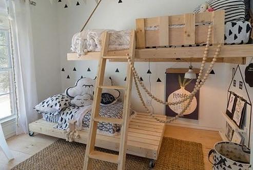 儿童房装修效果图参考 温馨有爱!