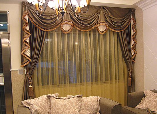 别墅窗帘效果图展示 5种风格各具魅力