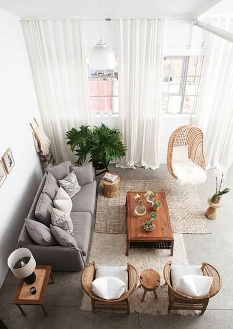 家装窗帘这样搭配 美观性与实用性兼备