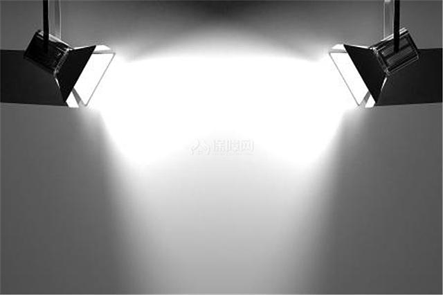 丁达尔光线素材探照灯