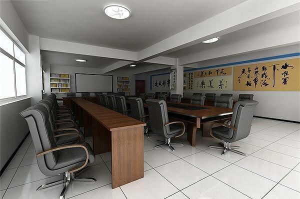 完美的办公室装修效果 应当从布局设计开始