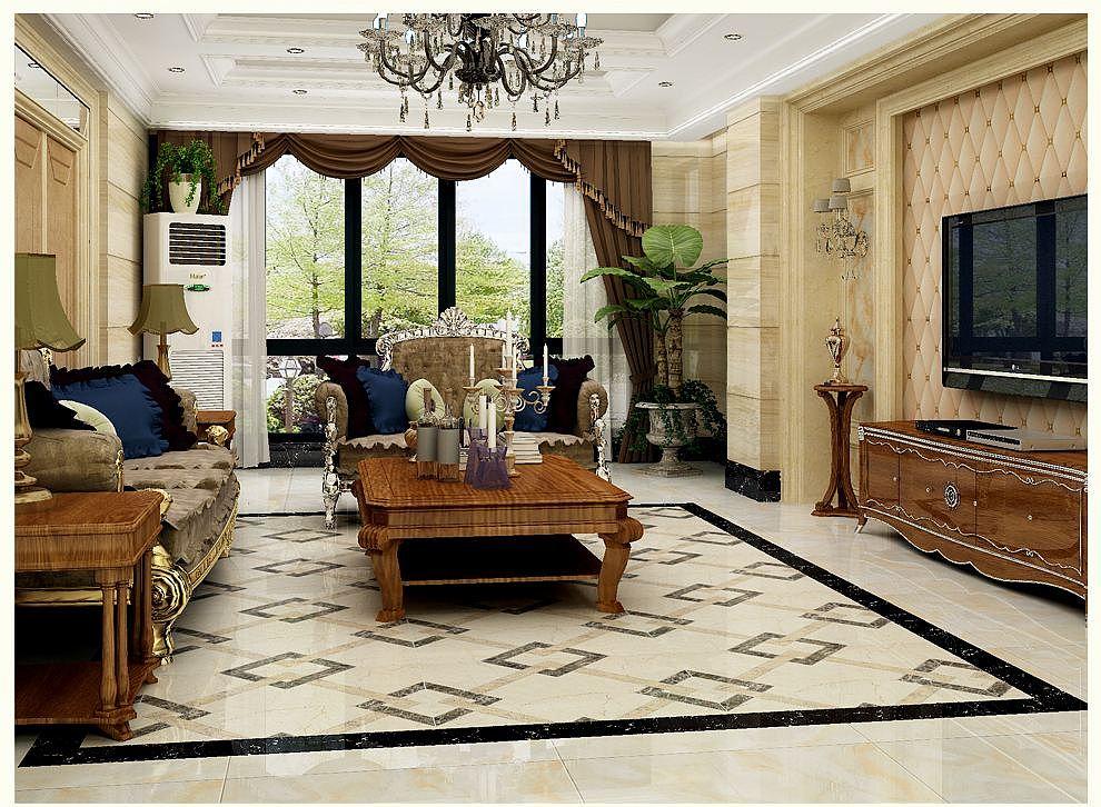 客厅用什么瓷砖好