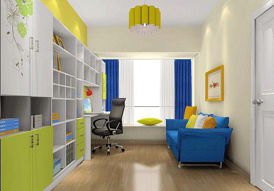 书房装修知识:完美书房不可少的吊顶