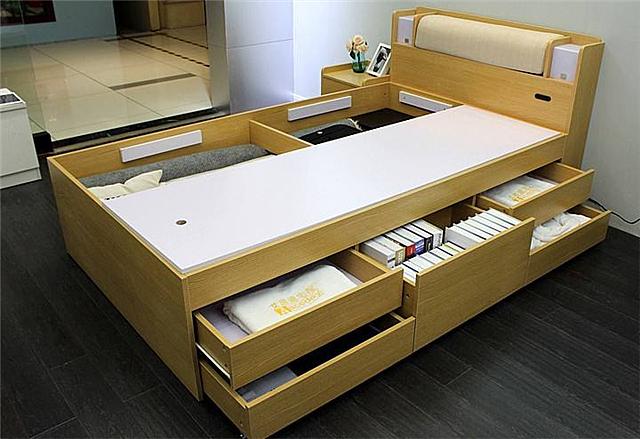 储物床好不好 储物床的优缺点是什么
