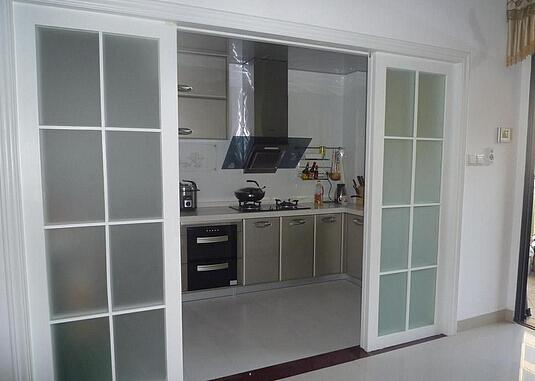 家居卫生间与厨房装什么门比较好?