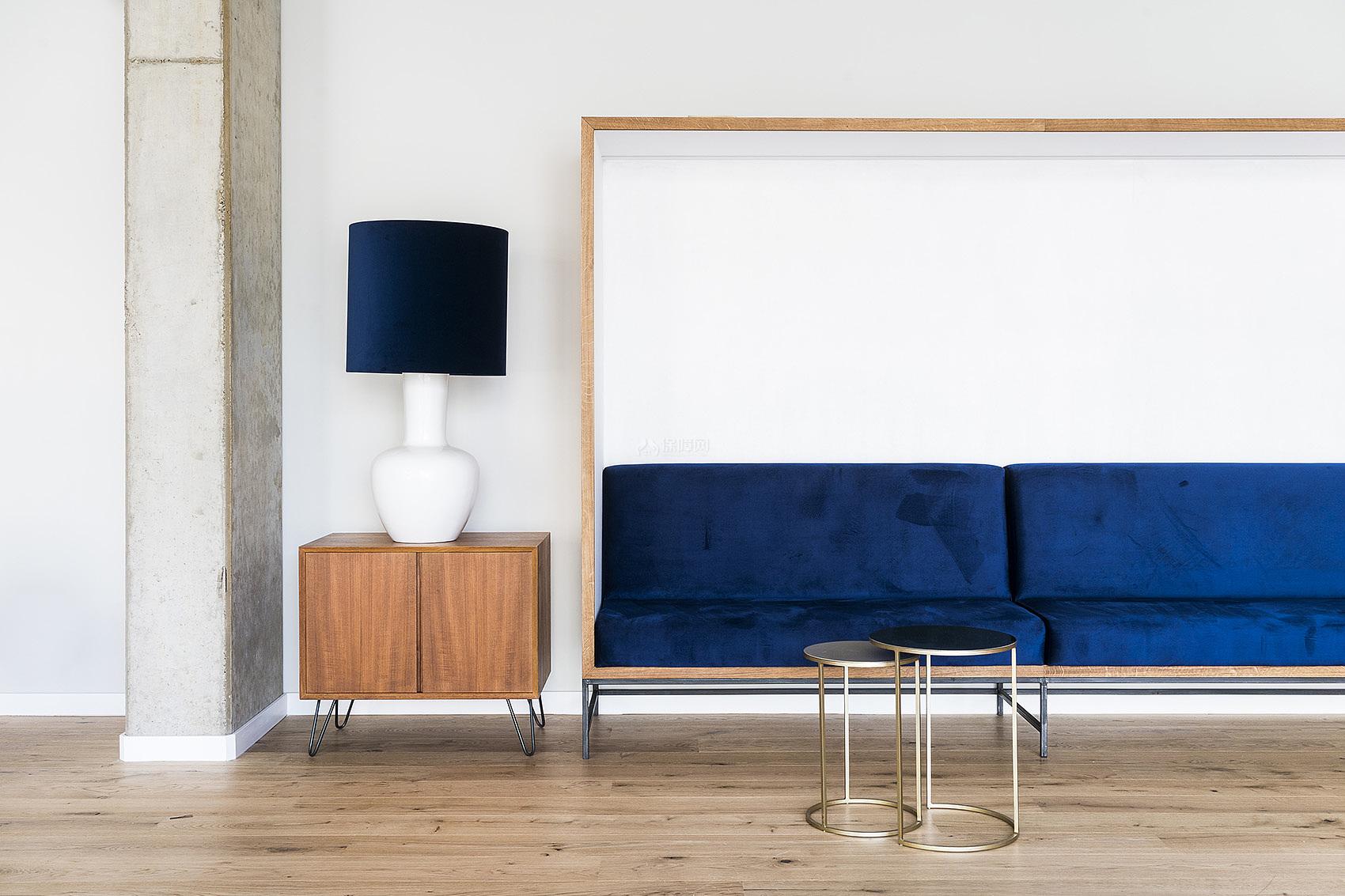 哥廷根Freigeist酒店之公共休闲区沙发布置效果图